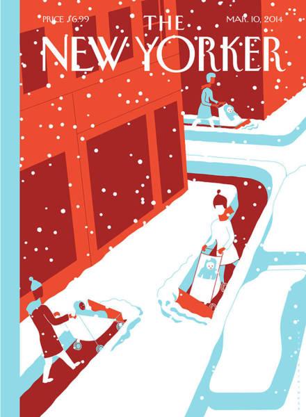 Snowplows Poster