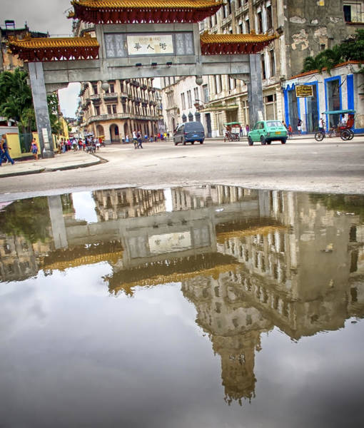 Poster featuring the photograph Chinatown by Gigi Ebert