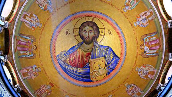 Christ Pantocrator -- No.4 Poster