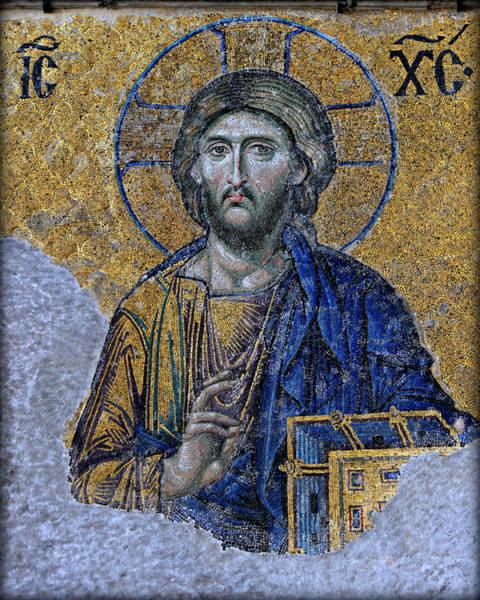 Christ Pantocrator -- Hagia Sophia Poster