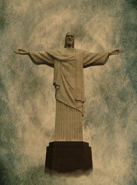 Christ The Redeemer Brazil Poster