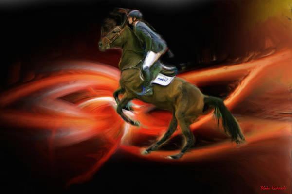 Christian Heineking On Horse Nkr Selena Poster