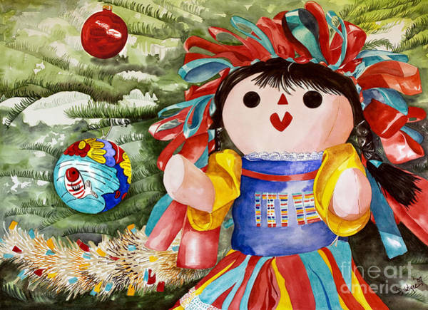 Christmas Muneca Poster