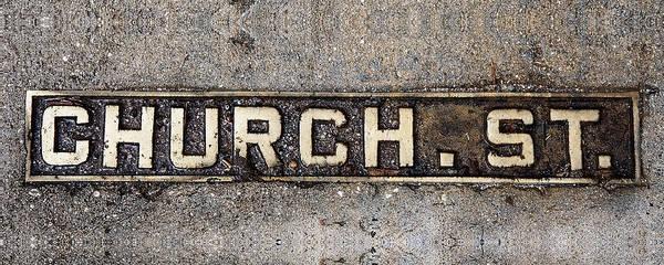 Church Street Poster