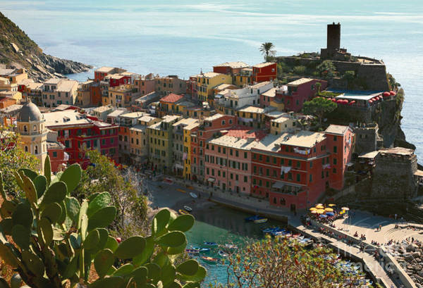Poster featuring the photograph Cinque Terra Vernazza by Kate McKenna