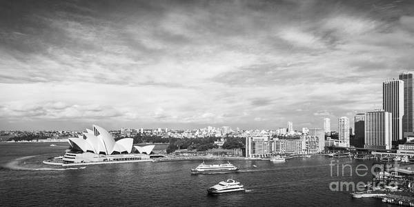 Circular Quay And Sydney Opera House Poster