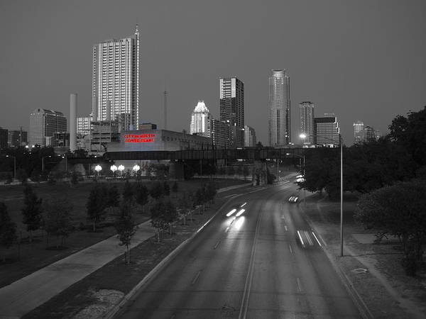 City Of Austin Power Plant Poster