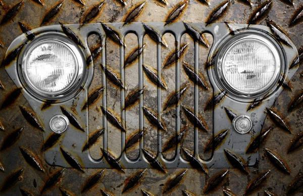 Civilian Jeep- Steel Gray Poster