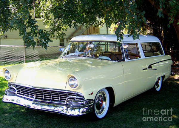 Classic 1956 Ford Ranch Wagon Poster