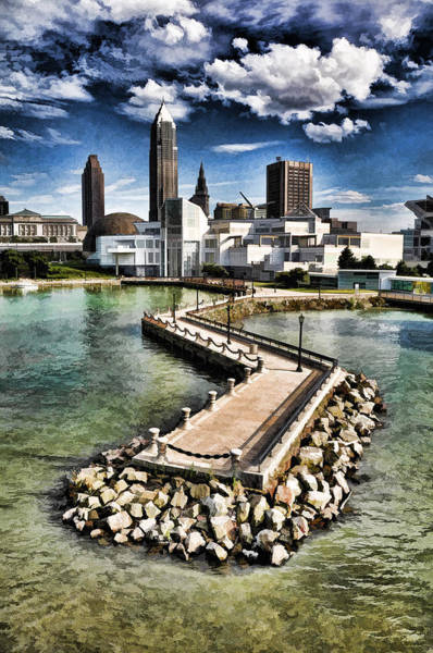Cleveland Inner Harbor - Cleveland Ohio - 1 Poster