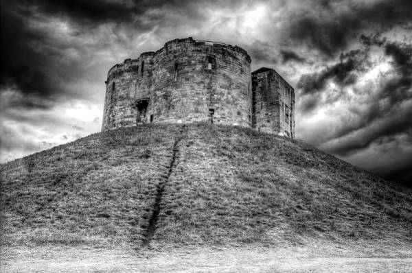 Poster featuring the photograph Clifford's Tower by Ross G Strachan