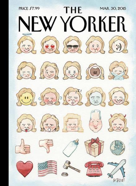 Clinton's Emoji Poster