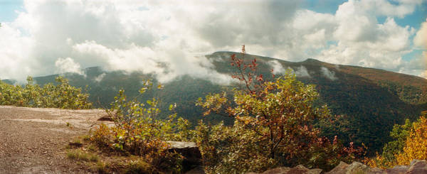 Clouds Over Mountain Range, Kaaterskill Poster