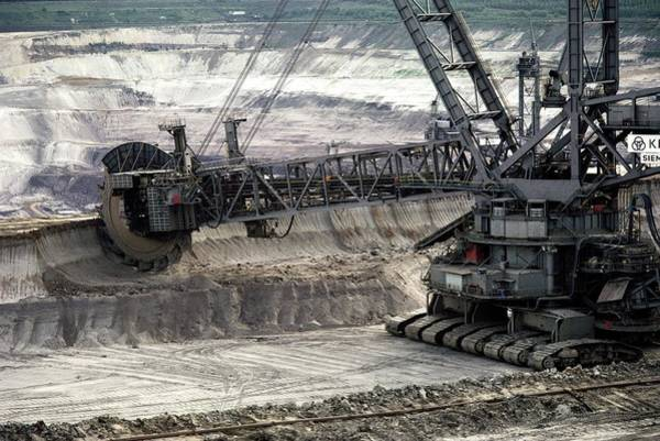 Coal Strip Mining Poster