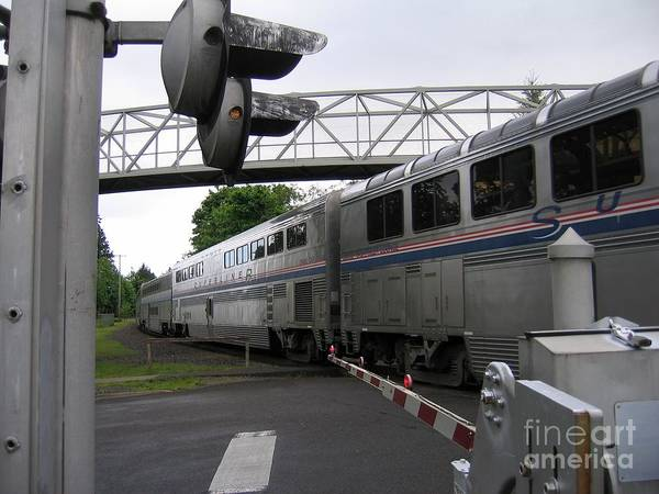 Coast Starlight In Salem Poster
