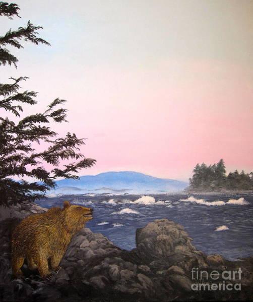 Coastal Bear Poster