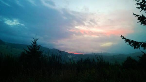 Coastal Mountain Sunrise V Poster