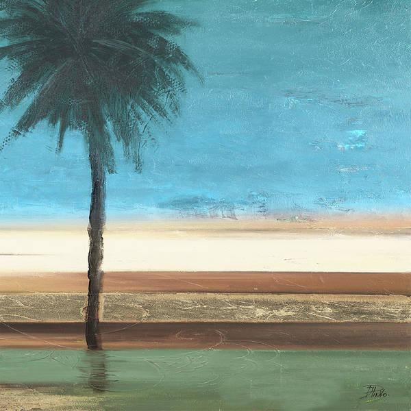 Coastal Palms IIi Poster