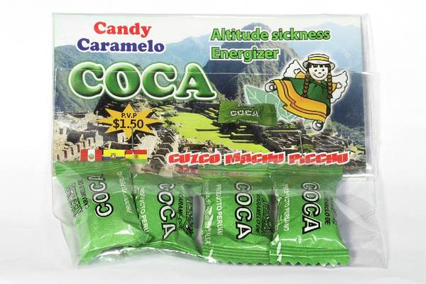 Coca Candies From Peru Poster