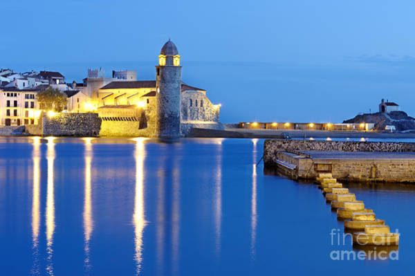 Collioure Harbour France Poster