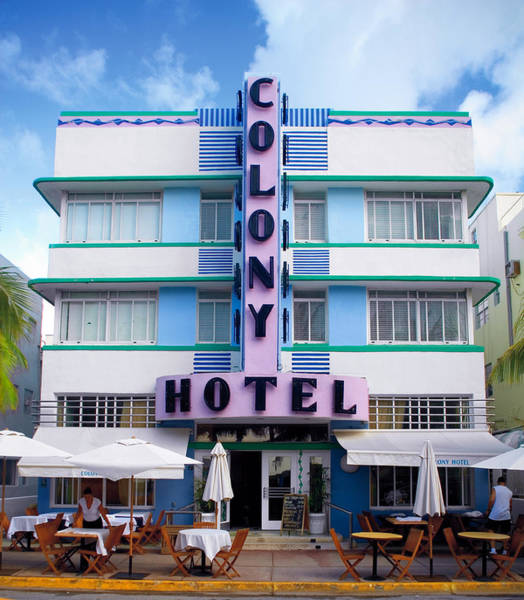 Colony Hotel Daytime Poster