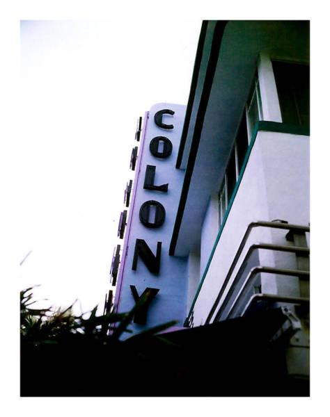 Colony Polaroid Poster