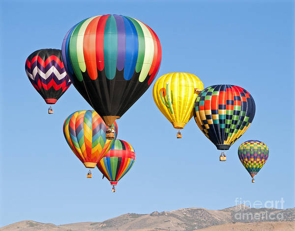 Color Over Reno Poster