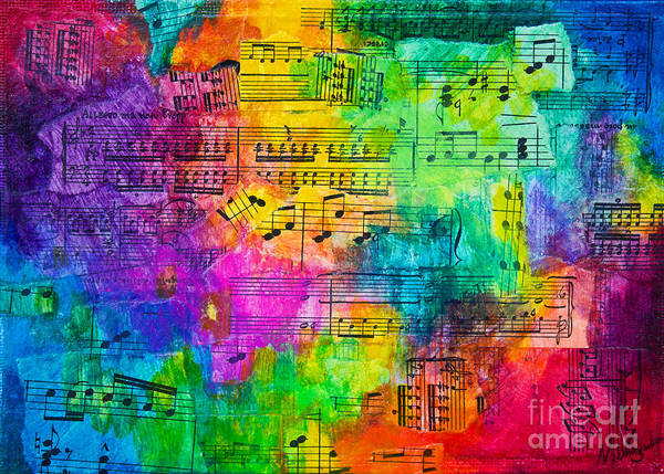 Colorful Symphony Poster