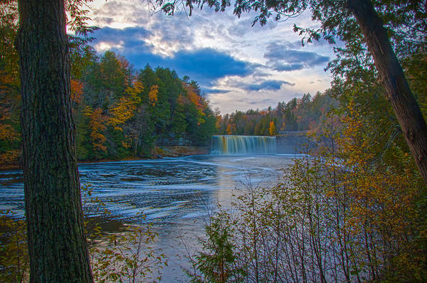 Colors At Tahquamenon Falls Poster