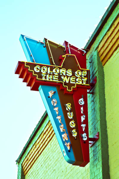 Colors Of The West Poster