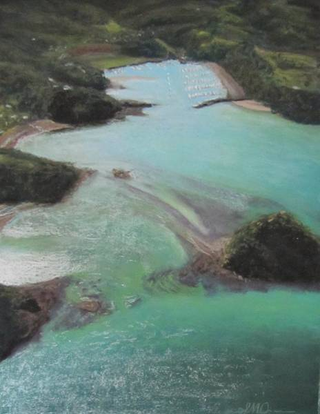 Poster featuring the pastel Colors Of Tutukaka by Serena Dawson