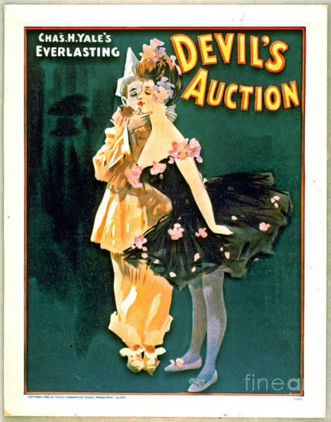 Comedy Stage Revue Playbill 1902 Poster