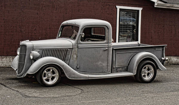 Cool Little Ford Pick Up Poster