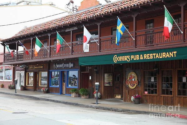 Coopers Pub And Restaurant On Monterey Cannery Row California 5d24774 Poster
