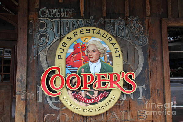 Coopers Pub And Restaurant On Monterey Cannery Row California 5d24779 Poster
