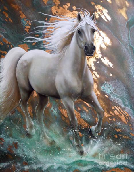 Copper Sundancer - Horse Poster