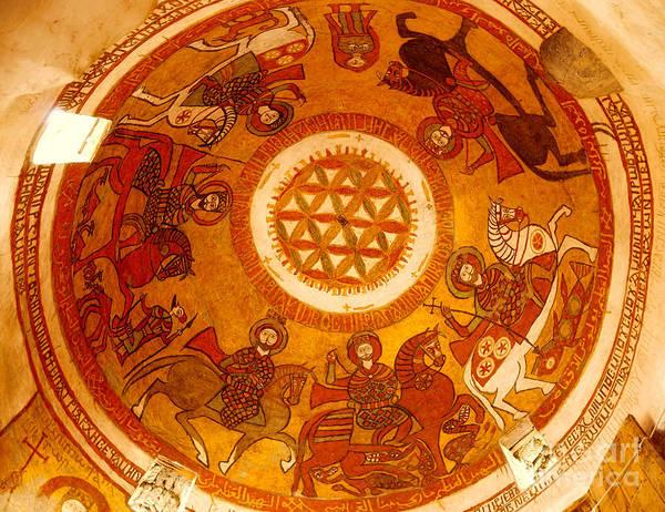 Coptic Martial Saints Poster