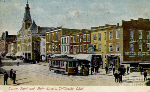 Corner Of Paint And Main - Chillicothe Ohio Poster