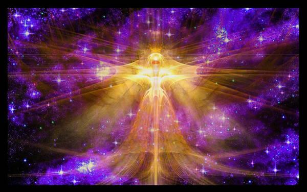 Cosmic Angel Poster