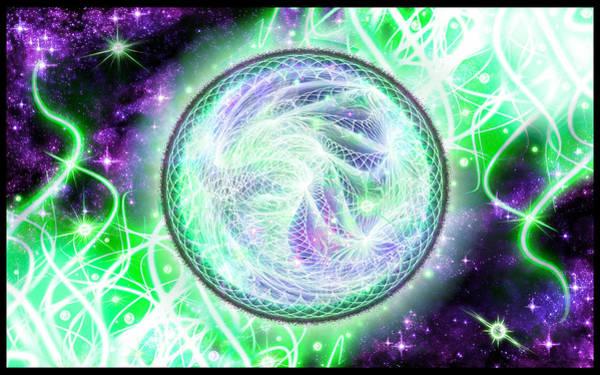 Cosmic Lifestream Poster