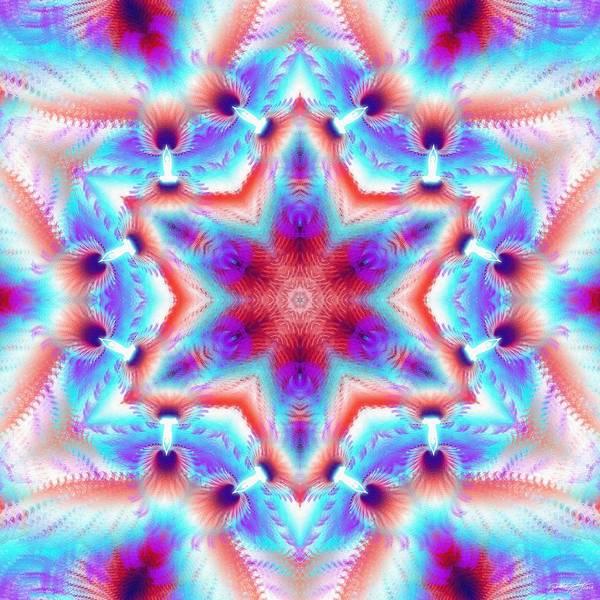 Cosmic Spiral Kaleidoscope 45 Poster