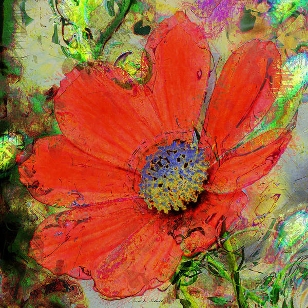 Cosmos Flower No. 1 Poster