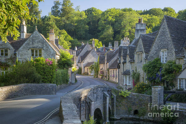 Poster featuring the photograph Cotswold Village by Brian Jannsen