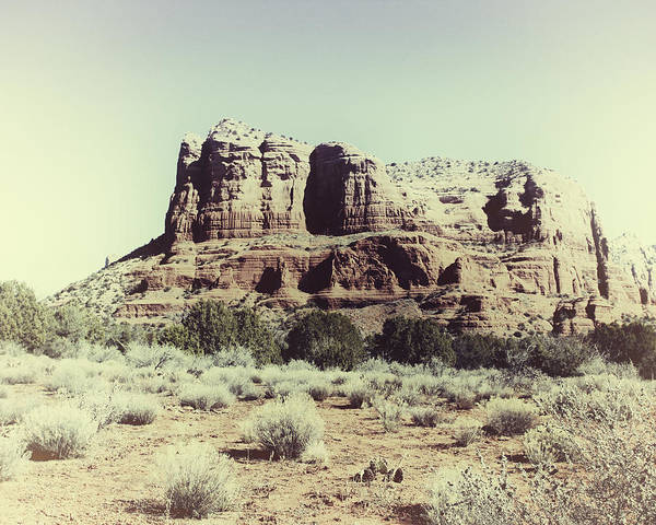 Poster featuring the photograph Courthouse Butte I by Gigi Ebert