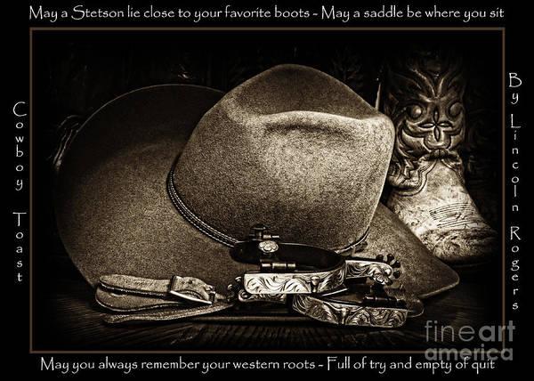 Cowboy Toast Poster