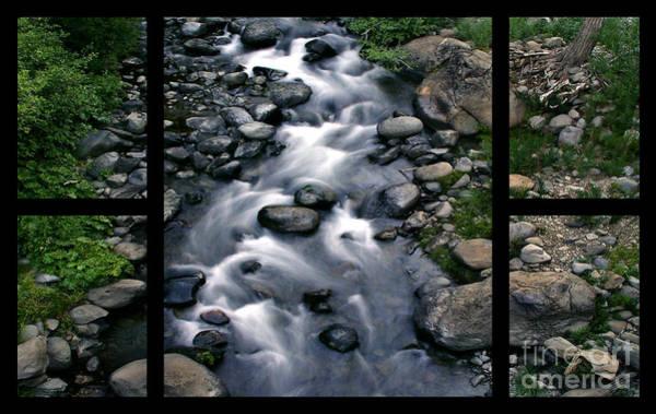 Creek Flow Polyptych Poster