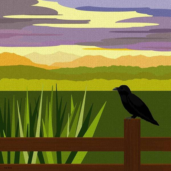 Crow In The Corn Field Poster