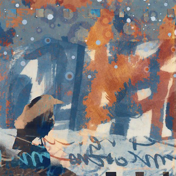 Crow Snow Poster