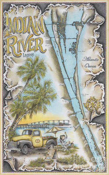 Cruising The Indian River Poster