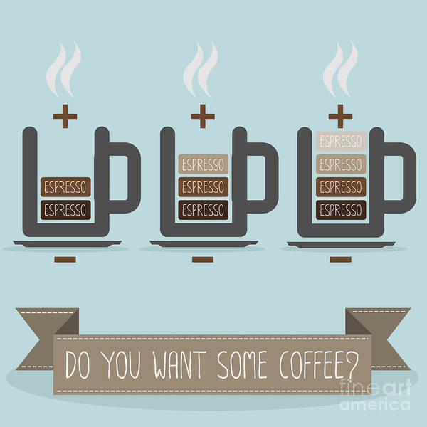Cup Of Coffee Battery Poster